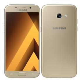 Samsung Galaxy A5 (2017) (SM-A520FZDAETL) zlatý Voucher na skin Skinzone pro Mobil CZPaměťová karta Samsung Micro SDHC EVO 32GB class 10 + adapter (zdarma)Software F-Secure SAFE 6 měsíců pro 3 zařízení (zdarma) + Doprava zdarma