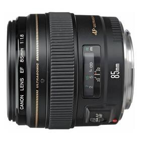 Canon EF 85mm f/1.8 USM (2519A019AA) černý + Doprava zdarma