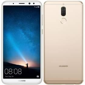 Huawei Mate 10 lite Dual SIM (SP-MATE10LDSGOM) zlatý SIM s kreditem T-Mobile 200Kč Twist Online Internet (zdarma)
