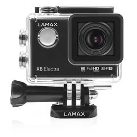 Lamax Action X8 Electra černá Čelenka MadMan pro LAMAX x7/x8 (zdarma) + Doprava zdarma