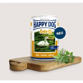 HAPPY DOG Ente Pur - 100% kachní maso 800 g