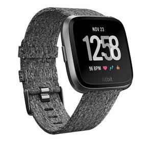 Fitbit Versa (NFC) - Charcoal Woven (FB505BKGY-EU) + Doprava zdarma