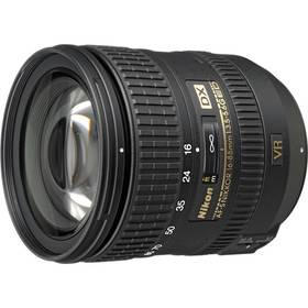 Nikon NIKKOR 16-85 mm F3.5-5.6G AF-S DX VR ED černý + Doprava zdarma