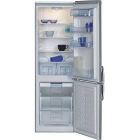 Chladnička s mrazničkou Beko CSA 29022 X nerez