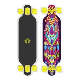 """Street Surfing Freeride 39"""" Robot černý/červený/modrý/žlutý + Reflexní sada 2 SportTeam (pásek, přívěsek, samolepky) - zelené v hodnotě 58 Kč + Doprava zdarma"""