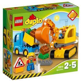 LEGO® DUPLO Město 10812 Pásový bagr a náklaďák