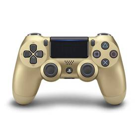 Sony Dual Shock 4 pro PS4 v2 (PS719895251) zlatý