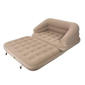 Master Multifunkční sofa 5 v 1 205 x 146 x 23 cm (146 x 103 x 47 cm) béžová