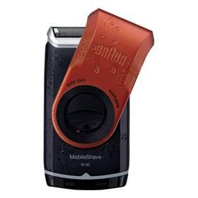 Braun battery M 60 černý/červený