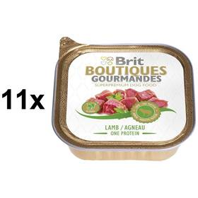 Brit Boutiques Gourmandes Lamb Puppy One Meat 11 x 150g
