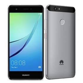Huawei Nova Dual SIM - Titanium Gray (SP-NOVADSTOM) Software F-Secure SAFE 6 měsíců pro 3 zařízení (zdarma)Power Bank Huawei AP007 13000mAh - černá (zdarma) + Doprava zdarma