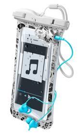 """CellularLine Voyager Music voděodolné pro 6,3"""" (VOYAGERMUSIC18W) bílé"""