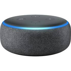 Amazon Echo Dot Charcoal (3.generace) černý Adaptér C-Tech univerzální, 110 - 230V, EU, US, AU