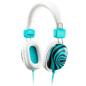 Sluchátka Genius HS-M470 (31710182101) bílá/modrá