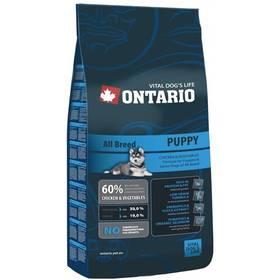 Ontario Puppy 13 kg + Doprava zdarma