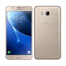 Samsung Galaxy J7 2016 (J710F) (SM-J710FZDNETL) zlatý Voucher na skin Skinzone pro Mobil CZSoftware F-Secure SAFE 6 měsíců pro 3 zařízení (zdarma) + Doprava zdarma
