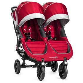 Kočík pre dvojičky Baby Jogger CITI MINI GT 2016 Crimson/Gray