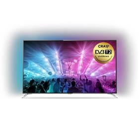 Philips 75PUS7101 šedá + K nákupu poukaz v hodnotě 3 000 Kč na další nákup + Doprava zdarma