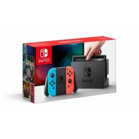 Nintendo Switch s Joy-Con - modro/ červená (NSH005) + Doprava zdarma