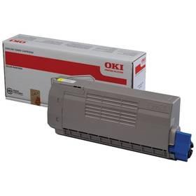 OKI MC760/770/780, 6000 stran (45396301) žlutý