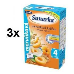 Sunarka meruňková kašička, 225g x 3ks
