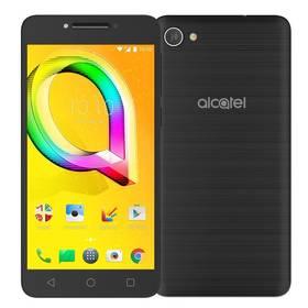 ALCATEL A5 LED 5085D (5085D-2CALE11) černý SIM s kreditem T-Mobile 200Kč Twist Online Internet (zdarma) + Doprava zdarma