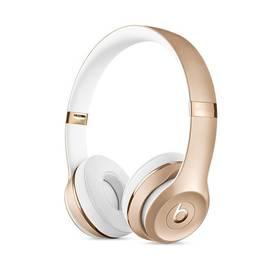 Beats Solo3 Wireless On-Ear (MNER2ZM/A) zlatá + Doprava zdarma