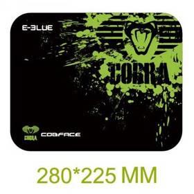 E-Blue Cobra S - herní, černo-zelená (EMP005-S) černá barva/zelená barva