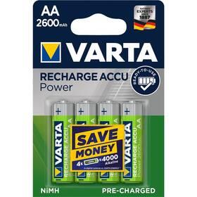 Varta Power, HR06, AA, 2600mAh, Ni-MH, blistr 4ks (5716101404)