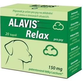 Alavis Relax 150mg pro psy 20 kapslí