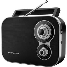 Radiopřijímač MUSE M-051 R černý