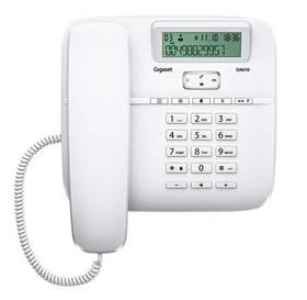 Domáci telefón Siemens Gigaset DA610 biely