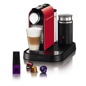 Krups Nespresso Citiz XN7305 červené + Doprava zdarma
