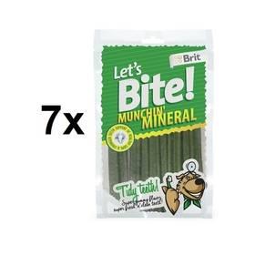 Brit Lets Bite Munchin Mineral 7 x 105 g