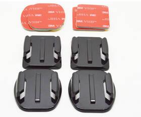 Niceboy 2 rovné, 2 zaoblené + 3M nálepky (N10) čierna