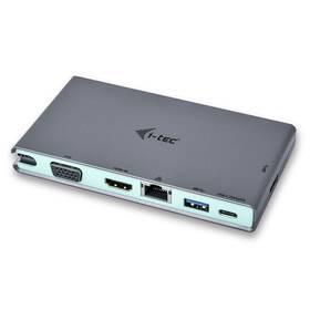 i-tec USB-C, 4K HDMI, VGA (C31TRAVELDOCKPD) (vrácené zboží 8800755063)
