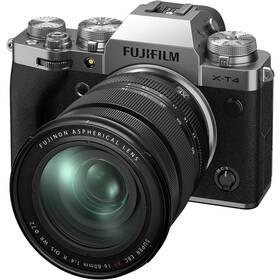 Fujifilm X-T4 + XF16-80 mm stříbrný