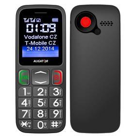 Mobilný telefón Aligator Senior A320 DualSim (A320GB) čierny/sivý