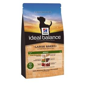 Hill's Ideal Balance Canine Adult Large Breed with Fresh Chicken & Brown Rice 12 kg + Doprava zdarma