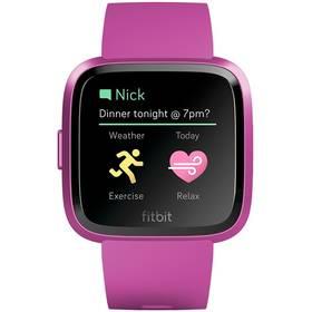 Chytré hodinky Fitbit Versa Lite - Mulberry Case / Mulberry Band (FB415PMPM)