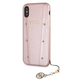Guess Kaia Hard Case pro Apple iPhone X/Xs (GUHCPXKAILRG) růžový
