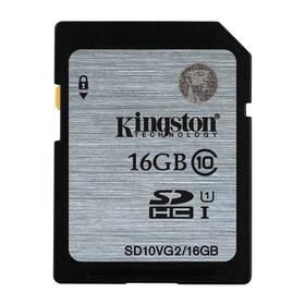 Kingston SDHC 16GB UHS-I U1 (45R/10W) (SD10VG2/16GB) (poškozený obal 8918086257)