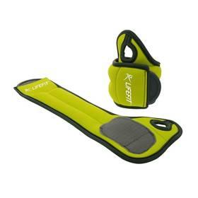 Neoprenová záťaž LIFEFIT Hand Weights na ruce 2x0,5kg zelená