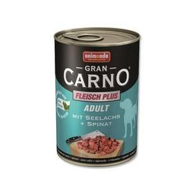Animonda Adult Gran Carno mořský losos + špenát 400g