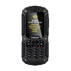 Mobilný telefón Evolveo StrongPhone X2 Dual SIM (SGM SGP-X2-B) čierny