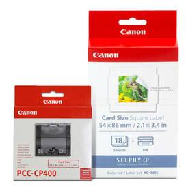 Fotopapír Canon KC-18IS, 54x86 mm, 18 ks + inkoust a držák papíru pro Selphy (6202B003)