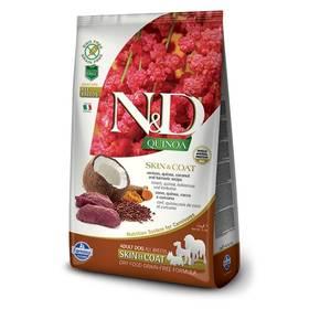 N&D Grain Free Quinoa DOG Skin&Coat Venison & Coconut 2,5g + Doprava zdarma