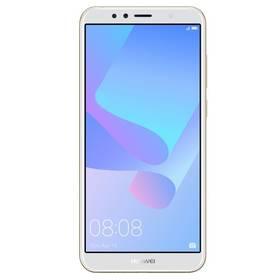 Huawei Y6 Prime 2018 Dual SIM (SP-Y6P18DSGOM) zlatý Power Bank Forever 10000 mAh 2xUSB - šedá/bílá (zdarma)Software F-Secure SAFE, 3 zařízení / 6 měsíců (zdarma) + Doprava zdarma