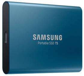 SSD externí Samsung T5 250GB (MU-PA250B/EU) modrý (poškozený obal 8800104293)