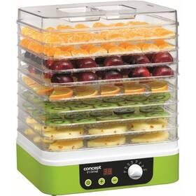 Sušička ovoce Concept SO-1060 bílá/zelená
